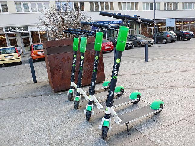Hulajnogi elektryczne to coraz popularniejszy środek transportu.