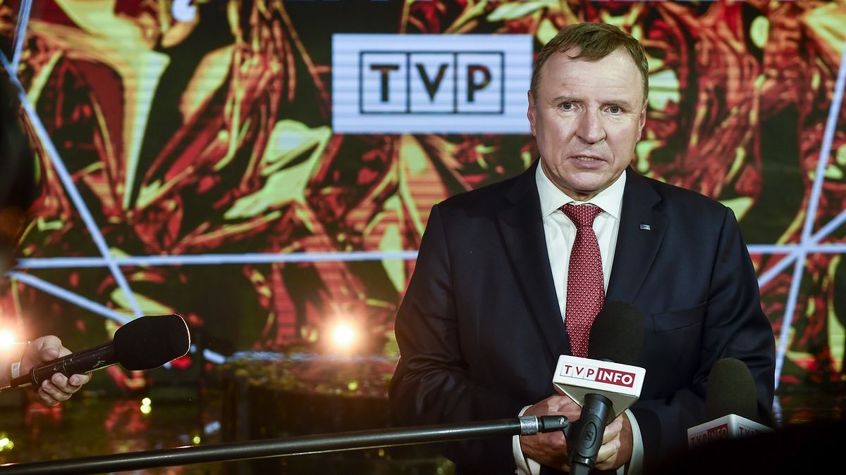 Jacek Kurski jest prezesem zarządu Telewizji Publicznej