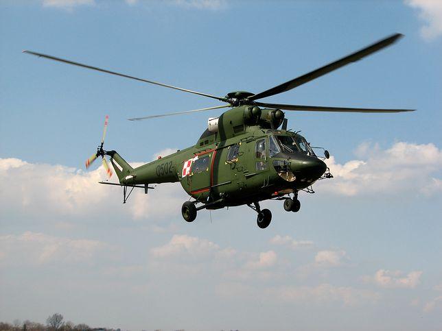 Śmigłowiec W-3 Sokół należący do polskiej armii rozbił się na polu w Massanzago ponad rok temu