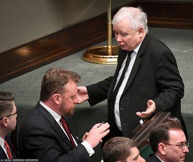 Koronawirus w Polsce. Łukasz Szumowski i Jarosław Kaczyński