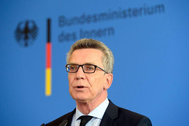 Szef MSW Niemiec apeluje o rozwagę i jest przeciwny zaostrzaniu prawa
