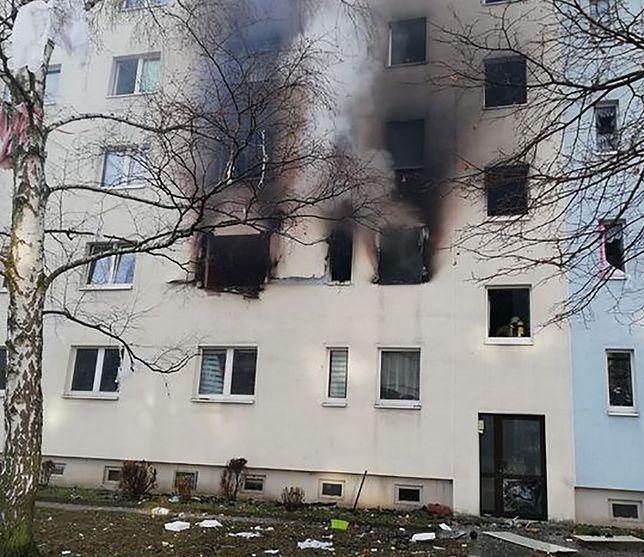 Niemcy. Wybuch w bloku. Jedna osoba zginęła, co najmniej 25 rannych
