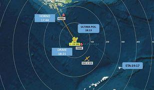 Wojskowy samolot zniknął z radarów