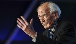 Zygmunt Bauman (1925 - 2017), polski socjolog, filozof, eseista