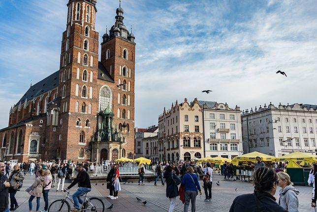 Kraków. Pogoda na dziś. Popołudniem może wystąpić burza
