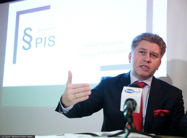 Prof. Marcin Matczak, prywatnie tata rapera Mata