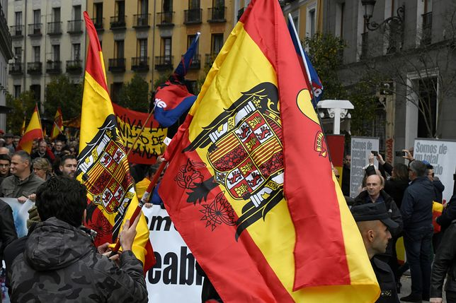 Hiszpania: Obchody rocznicy śmierci generała Franco. Interweniowała policja