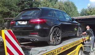 Policja odzyskała mercedesa skradzionego w Niemczech