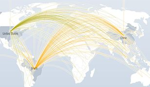 Interaktywna mapa ataków DDoS