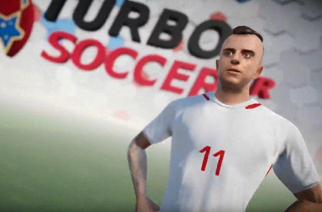 Turbo Grosik w Turbo Soccer VR