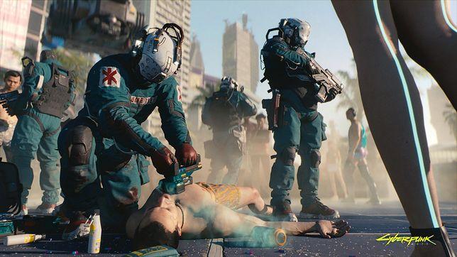 Cyberpunk 2077 - screen z gry