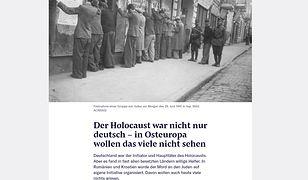 Szwajcarski dziennik zamieścił kontrowersyjny tekst. Odmówił publikacji polemiki polskiej ambasadzie