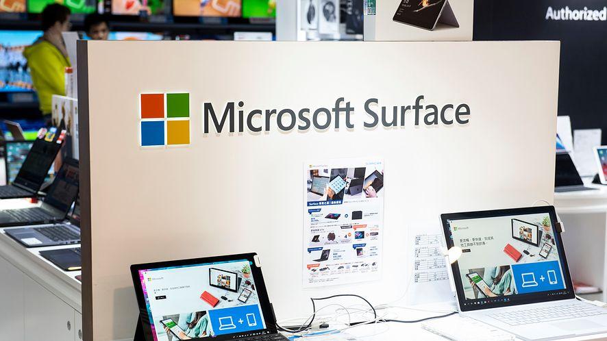 Surface z dwoma ekranami może dostać obsługę aplikacji na Androida (Getty Images)