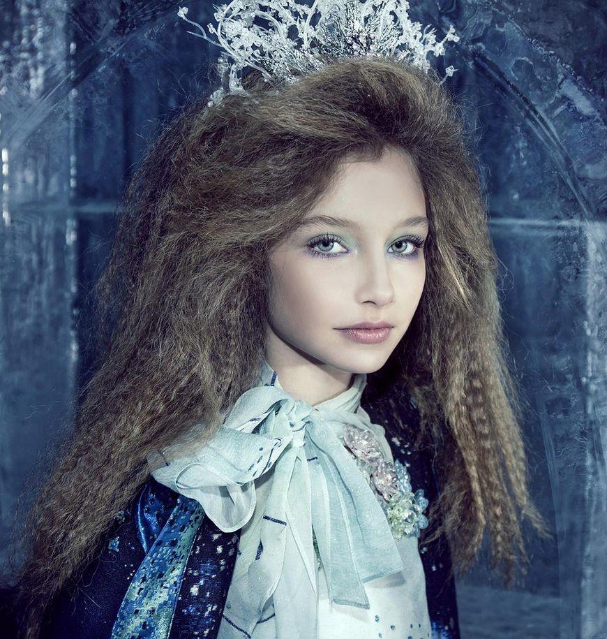 Alexandra jest dziesięcioletnią modelką