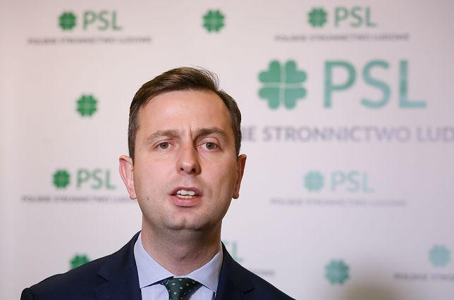 Prezes PSL wygłosił przemówienie we wsi Piątek (woj. łódzkie)