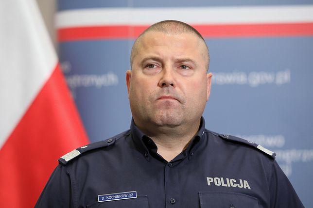 Komendant wojewódzki policji w Białymstoku Daniel Kołnierowicz pożegna się ze stanowiskiem?
