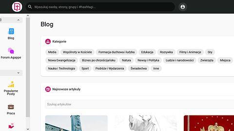 Agappe.pl - portal społecznościowy dla katolików. Czy jest potrzebny?