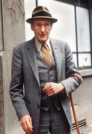 WILLIAM S. BURROUGHS (USA 1914-1997) Escritor.   Male