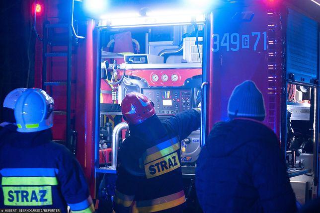 Wybuch w domu jednorodzinnym w Wiączyniu pod Łodzią. Zabity i ranna