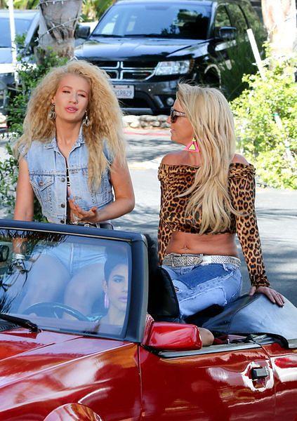 Britney Spears, Iggy Azalea