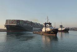 Egipt. Kontenerowiec Ever Given przestał blokować Kanał Sueski