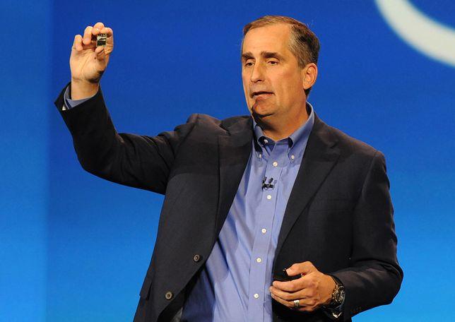 Brian Krzanich, prezes Intel.