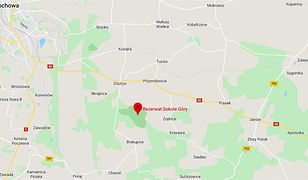 Częstochowa. Wypadek w rezerwacie Sokole Góry - nie żyje 40-latka