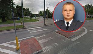 Wiceszef SW płk Artur Dziadosz śmiertelnie potrącił kobietę na pasach. Dalej pełni służbę