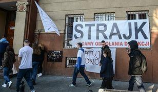 Ostry protest w warszawskiej szkole. Dyrektorka zdymisjonowana