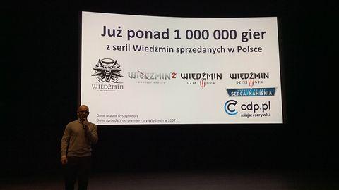 W Polsce kupiono już ponad milion Wiedźminów