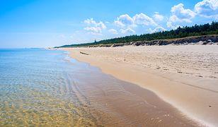 Sanapid zamknął plażę w Ustroniu Morskim