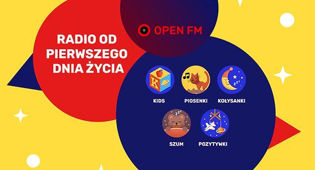 Dzień Dziecka z Open FM. Włącz jedną ze stacji z muzyką dla najmłodszych