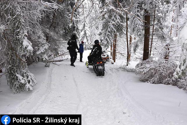 Słowacja. Polacy złapani na skuterach śnieżnych na terenie parku krajobrazowego
