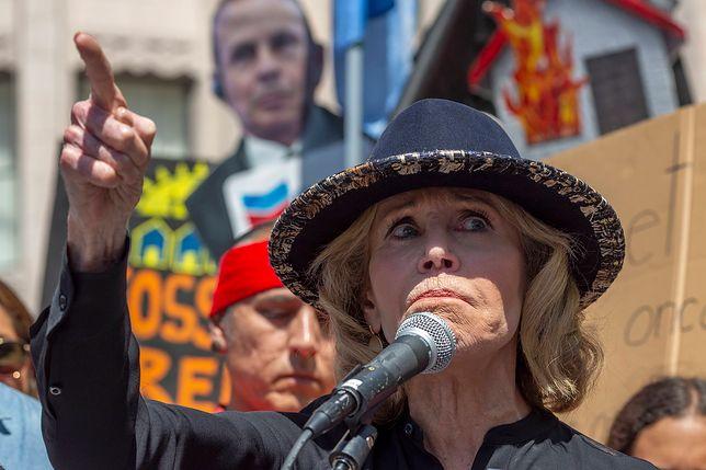 Jane Fonda mimo aresztowań nie ma zamiaru przestać protestować