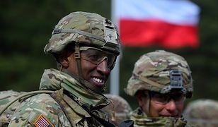W Polsce stacjonuje 1,2 tys. żołnierzy z USA, Wielkiej Brytanii oraz Rumunii.