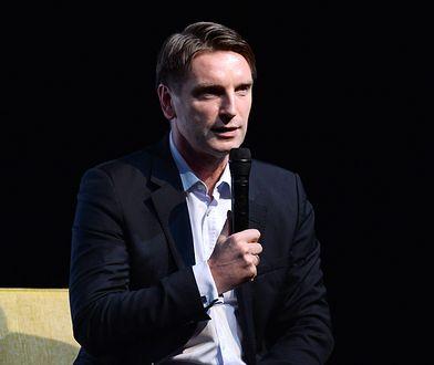 Tomasz Lis podczas premiery swojej książki
