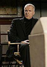 Reżyser James Cameron na konferencji w Nowym Jorku