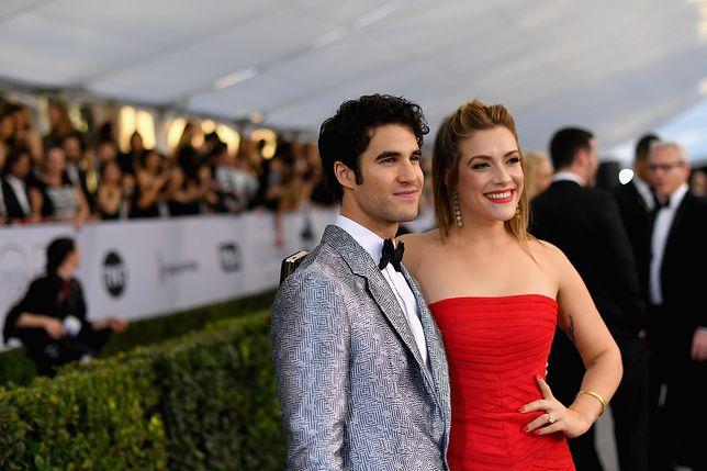 """""""Glee"""": Darren Criss wziął ślub. Panna młoda wyglądała obłędnie"""