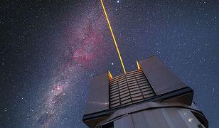 Cztery lasery wytworzą sztuczne gwiazdy nad Obserwatorium Paranal
