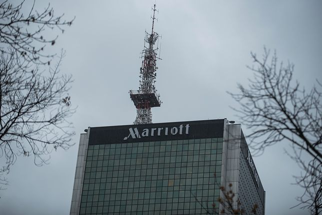 Hotel Marriott w Warszawie
