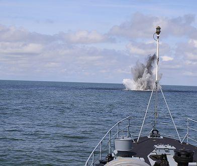 Mina morska Mark IV została zneutralizowana