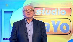 """Ryszard Makowski, gwiazda """"Studia YaYo"""""""