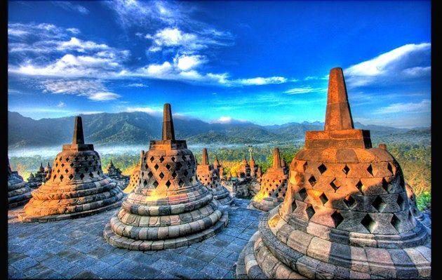 Niezwykła świątynia Borobudur