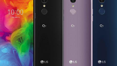 LG Q7 zaprezentowany: jednak można zrobić ciekawy smartfon bez wycięcia