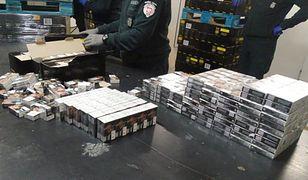 Przemyt ponad miliona sztuk papierosów w transporcie... zupek błyskawicznych na przejściu granicznym w Korczowej