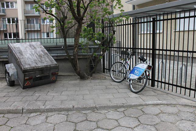 Warszawiacy nie dbają o rowery Veturilo