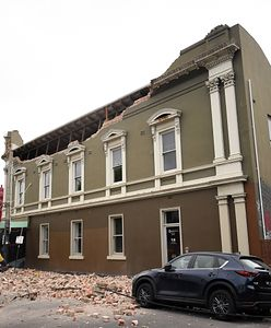 Trzęsienie ziemi w Australii. Zniszczone budynki i popękane ulice