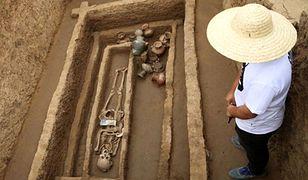"""W Chinach znaleziono szkielety ludzkich """"gigantów"""""""