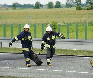 Strażacy na A1 sprawdzą, czy są odpowiednio przygotowani do udzielania pomocy