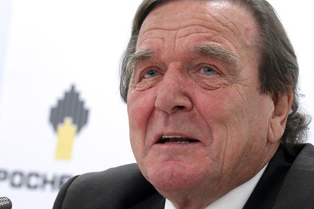 Gerhard Schroeder został nowym prezesem Rosneftu
